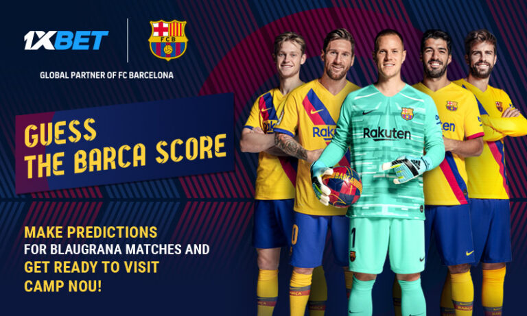 1XBET – Barcelona Guess